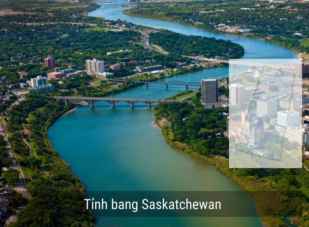 Tỉnh bang Saskatchewan Canada năm 2020
