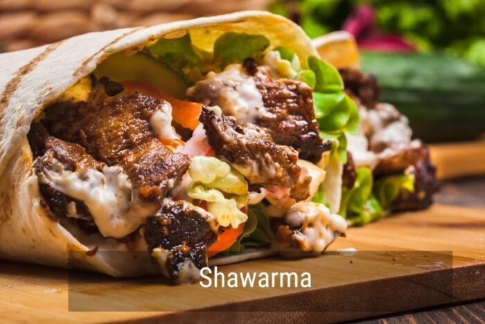 Shawarma món ăn thủ đô Ottawa