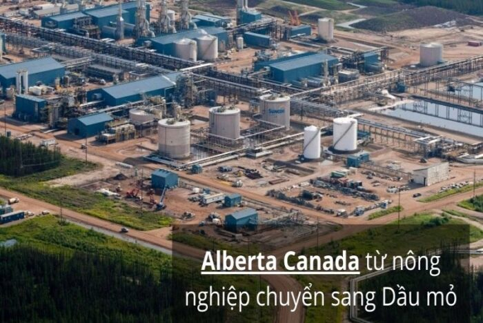Alberta nền kinh tế dầu mỏ