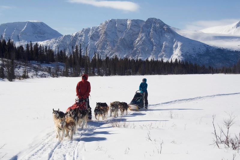 Dân cư tại tỉnh bang Yukon Canada
