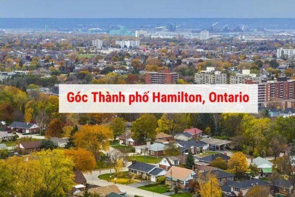 Giới thiệu thành phố Halmiton Ontario Canada