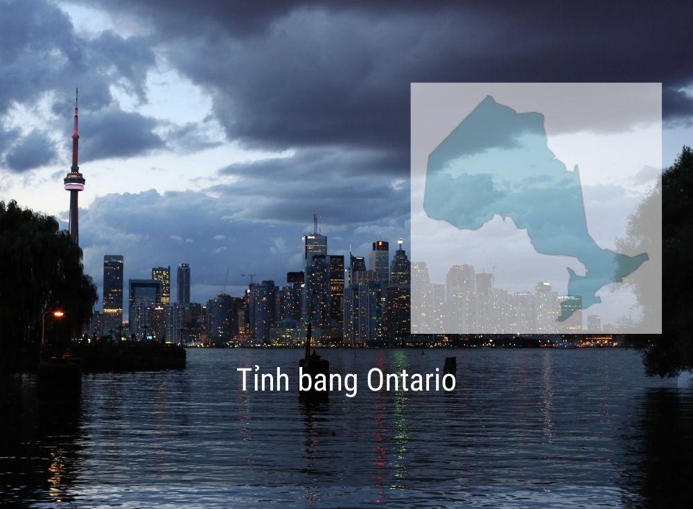 Tỉnh bang Ontario Canada năm 2020