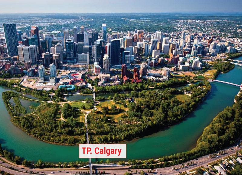 Địa điểm đầu tiên thành phố Calgary
