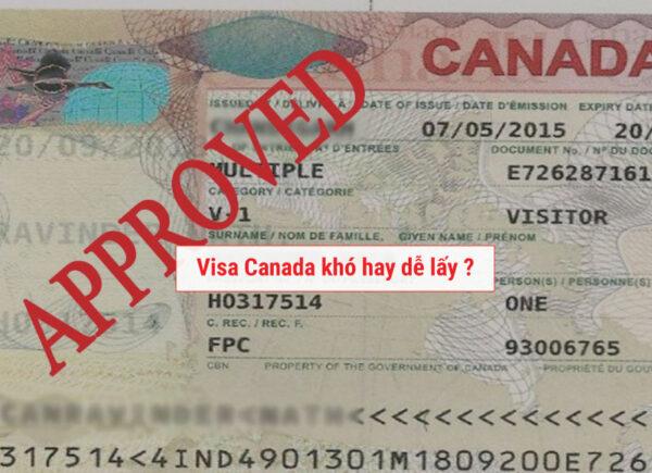 Vì sao Visa Canada khó lấy