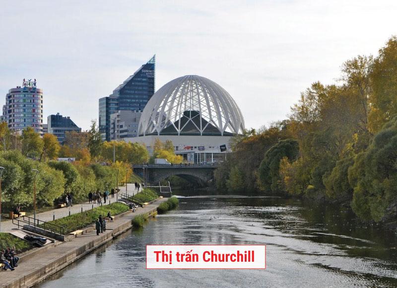 Thị trấn Churchill canada