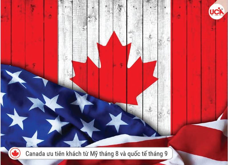 Canada ưu tiên du khách đến từ Mỹ
