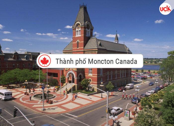 Moncton Canada thành phố tỉnh bang New Brunswick