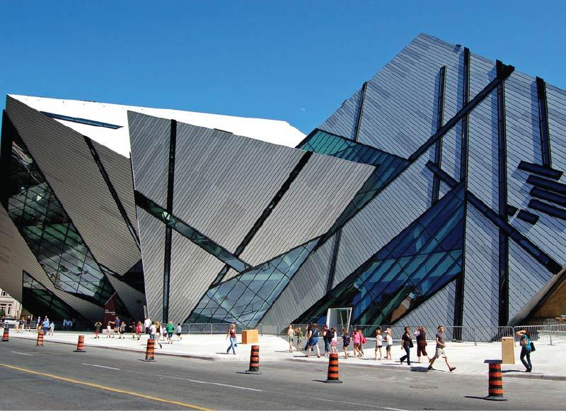 Bảo tàng Hoàng gia Ontario tọa lạc tại thành phố Toronto Canada