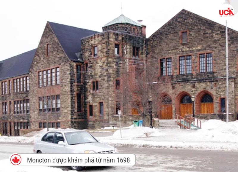 Lịch sử ra đời thành phố Moncton