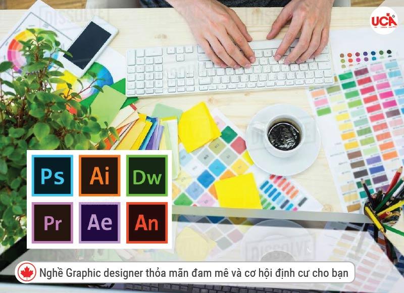 Graphic designer cơ hội để định cư tại Canada