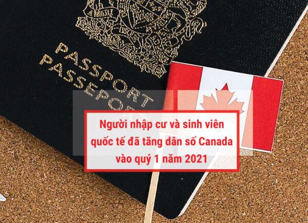 Người nhập cư tăng dân số Canada