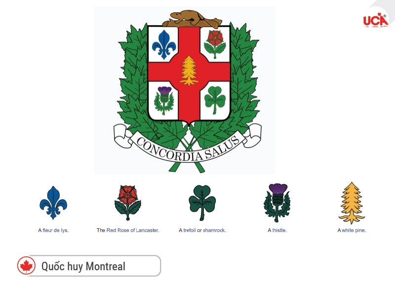 Quốc huy và biểu tượng thành phố Montreal