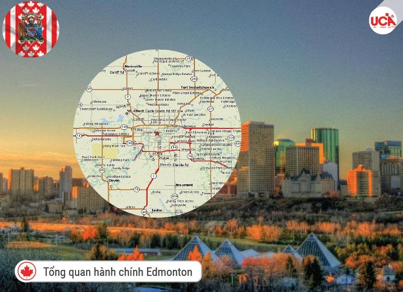 tổng quan hành chính thành phố Edmonton