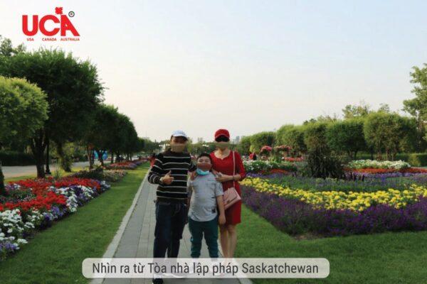 Khách hàng thành công anh Nguyễn chị Lê tại Saskechewan