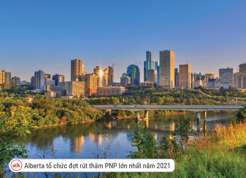 Alberta tổ chức lễ bóc thăm lớn nhất năm 2021