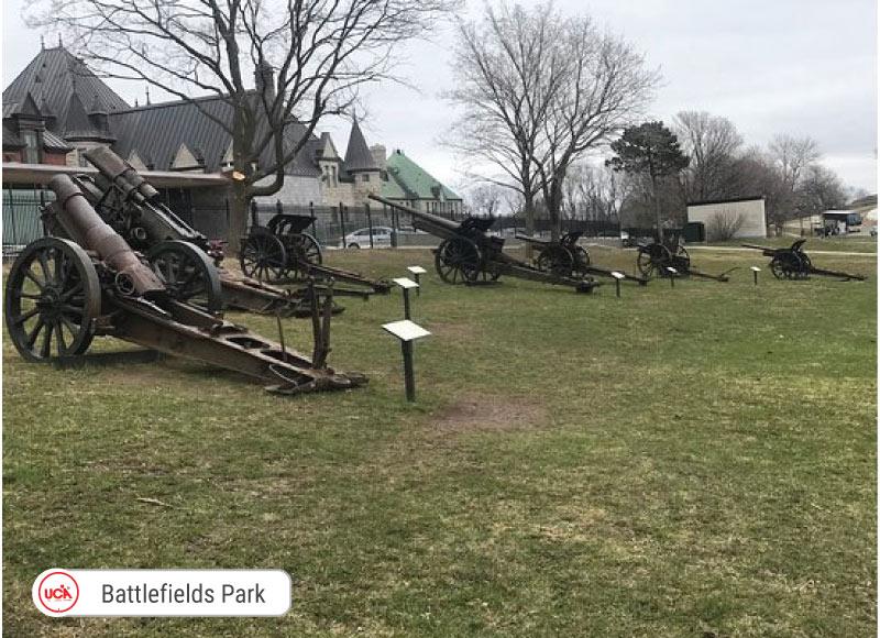 Battlefields Park tại thành phố Quebec City