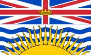 Lá cờ tỉnh bang British Columbia