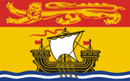 Lá cờ tỉnh bang New Brunswick