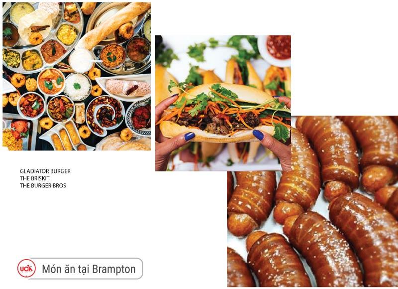 Món ăn tại Brampton