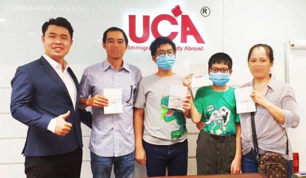 Anh Lê và chị Đặng là Khách hàng thành công cùng UCA