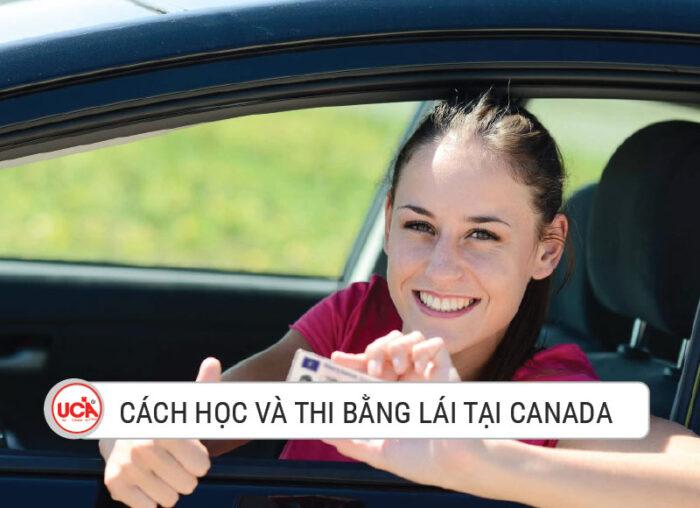 Cách học và thi bằng lái Canada