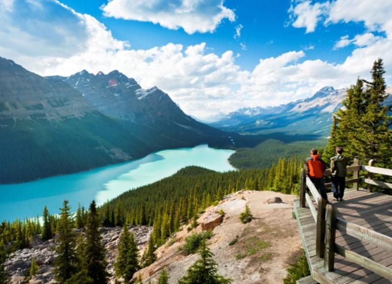 Cảnh đẹp tuyệt vời ở Canada