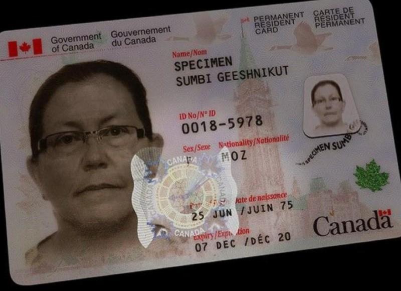 Mẫu bằng lái xe mẫu tại Canada
