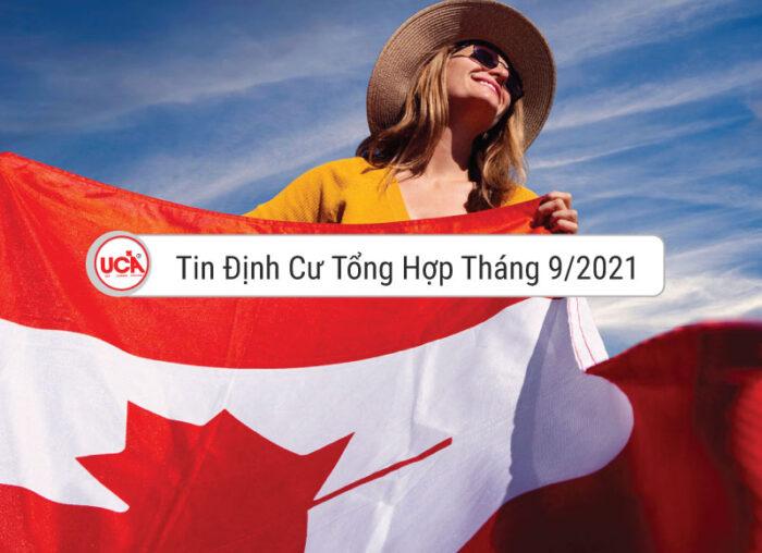 tin tổng hợp định cư Canada tháng 9 năm 2021