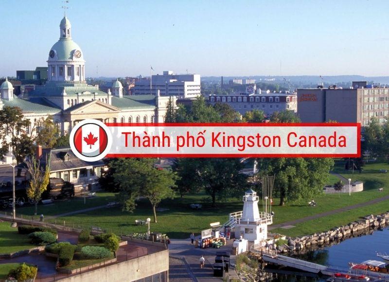 giới thiệu thành phố kingston Canada