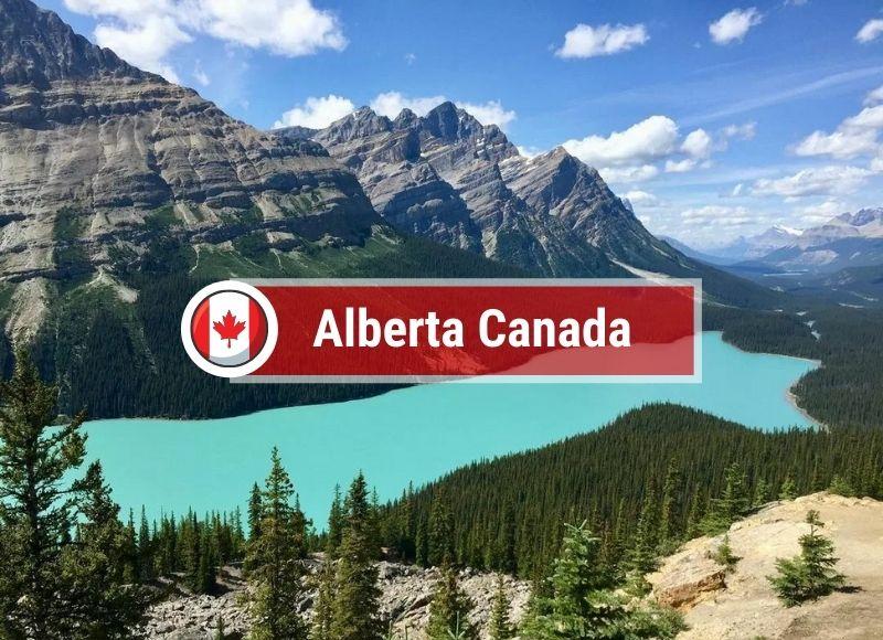 tin định cư tỉnh bang Alberta tháng 10/2021