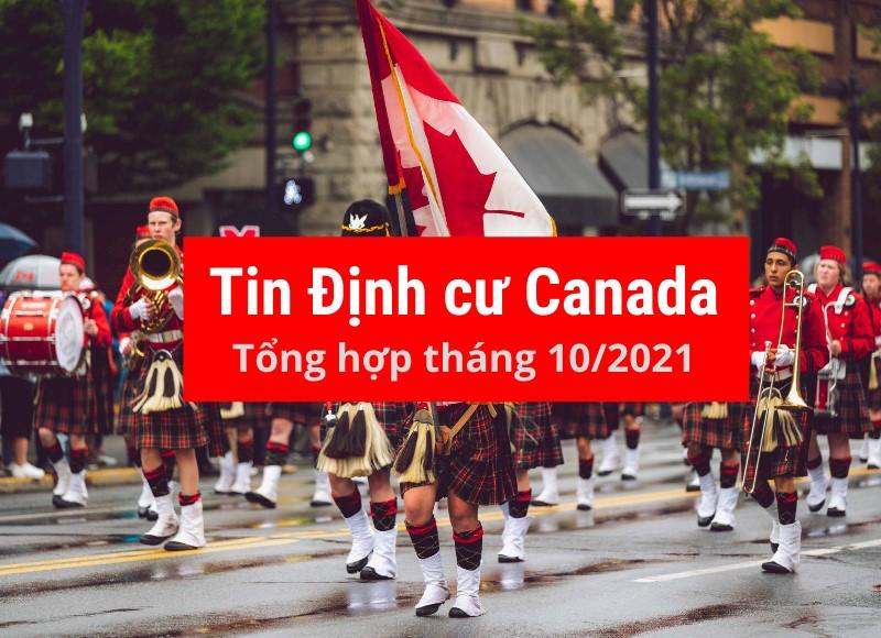 Tổng Hợp Tin Định Cư Canada tháng 10