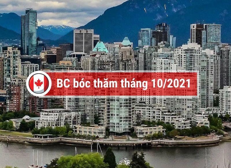tỉnh bang BC bóc thăm tháng 10 năm 2021